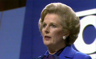 Margaret Thatcher famous quote while speaking at Conservative conference