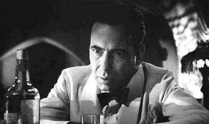 Of all the gin joints, in all the towns, in all the world, she walks into mine