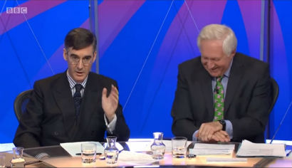 Jacob Rees-Mogg quote owning David Dimbleby on Eton jibe